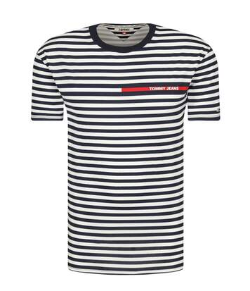 Tee shirt marinière  -  Tommy Jeans - Homme