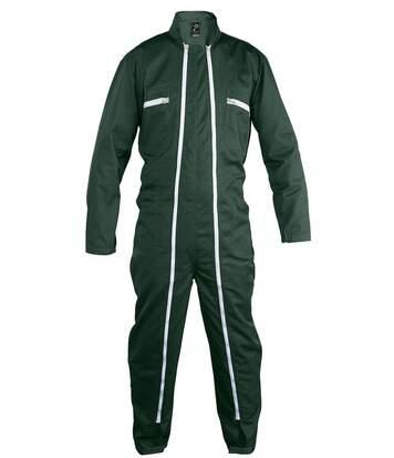 Combinaison de travail homme double zip - vert - 80901