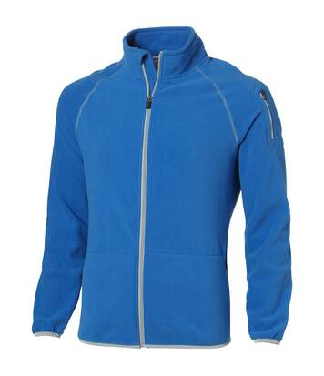 Slazenger Mens Drop Shot Full Zip Micro Fleece Jacket (Sky Blue) - UTPF1795