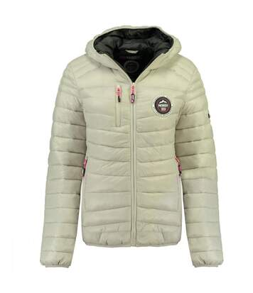 Doudoune Grise femme Geographical Norway Bambway