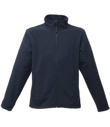 Regatta Reid Mens Softshell Wind Resistant Water Repellent Jacket (Navy) - UTRG1599