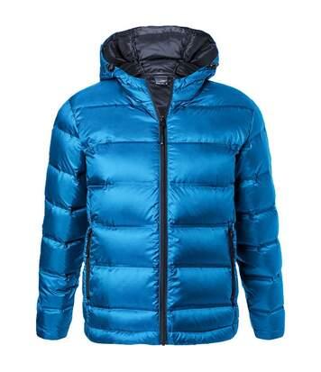 Doudoune homme à capuche - JN1152 - bleu