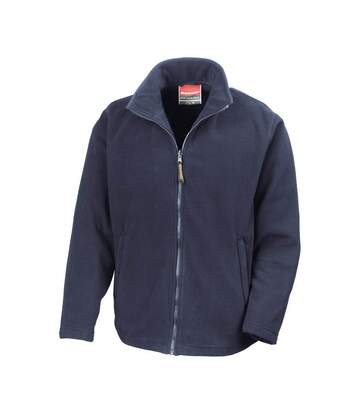 Result Mens High Grade Microfleece Horizon Showerproof Breathable Jacket (Navy Blue) - UTBC854