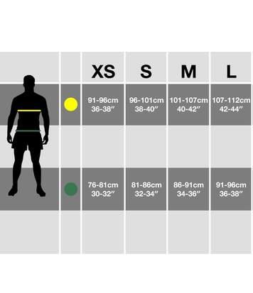 Brave Soul Mens Rainbow Ombre Design Swim Shorts (Sunrise) - UTSWIM649
