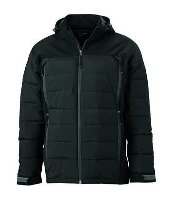 Veste matelassée Homme anorak ski / neige - JN1050 - noir