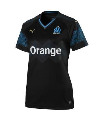Olympique de Marseille Maillot extérieur noir femme Puma