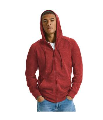 Russell - Sweat-Shirt À Capuche Hd - Homme (Rouge chiné) - UTRW6076