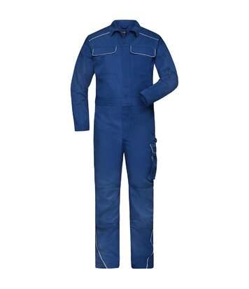 Combinaison de travail homme - JN887 - bleu roi foncé