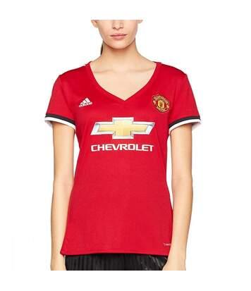 Manchester United Maillot domicile rouge femme Adidas