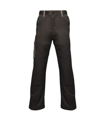 Regatta Mens Contrast Cargo Work Trousers (Black/ Seal Grey) - UTRW6515