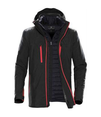 Stormtech Mens Matrix System Jacket (Black/Carbon) - UTBC4116