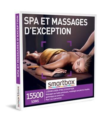 SMARTBOX - Spa et massagesd'exception - Coffret Cadeau Bien-être