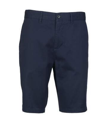 Front Row Mens Cotton Rich Stretch Chino Shorts (Navy) - UTRW4696