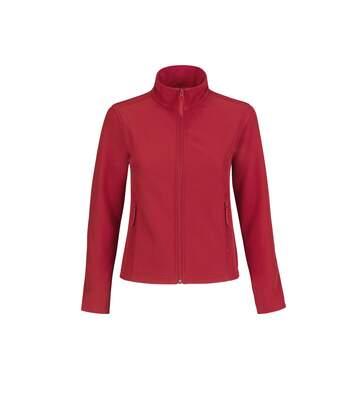 B&C Womens/Ladies Water Repellent Softshell Jacket (Black/ Black) - UTRW4827