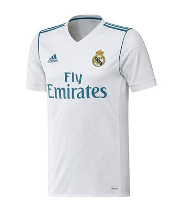 Real Madrid Maillot domicile blanc homme Adidas