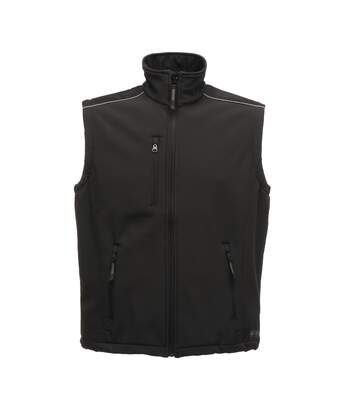 Regatta Great Outdoors Mens Sandstorm Sleeveless Zip Up Bodywarmer (Black) - UTRG1927