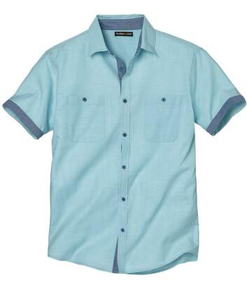 Men's Riviera Short Sleeve Shirt - Blue