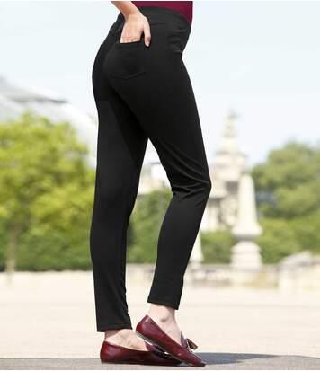 Pohodlné strečové nohavice
