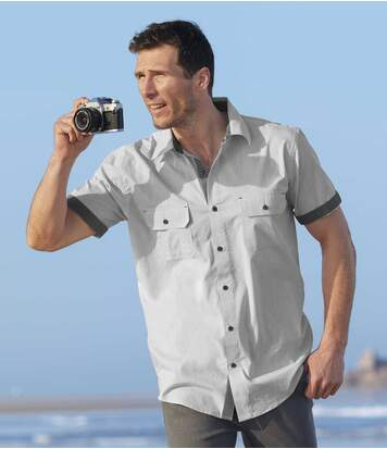 Рубашка из Хлопка Фламме фото