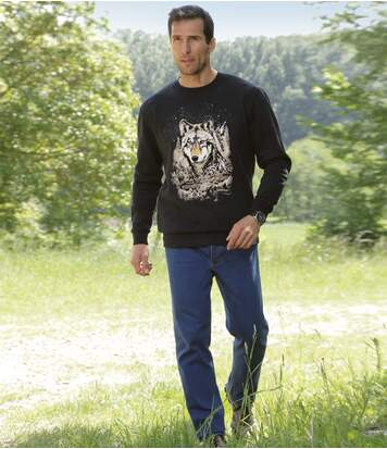 All-terrain stretch jeans