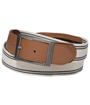 Men's Canvas Belt with Money Pocket