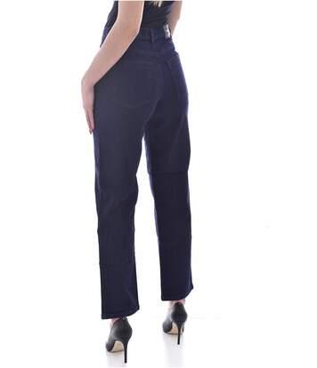 Jean droit 7/8eme taille haute  -  Diesel - Femme