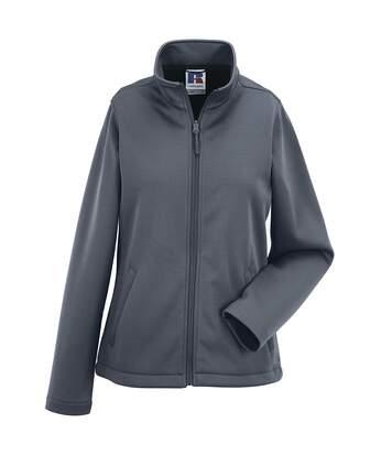 Russell Ladies/Womens Smart Softshell Jacket (Convoy Grey) - UTBC1508
