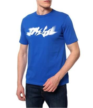 Tee shirt coton à gros logo  -  Diesel - Homme