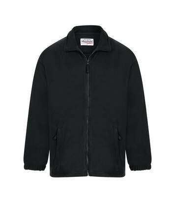 Absolute Apparel Heritage Full Zip Fleece (Black Opal) - UTAB128