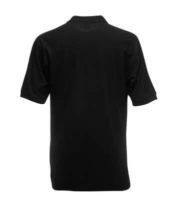 Fruit Of The Loom Mens 65/35 Pique Short Sleeve Polo Shirt (Navy) - UTBC388