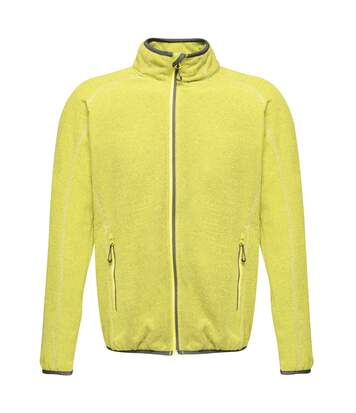 Regatta Mens Dreamstate Mini Honeycomb Fleece Jacket (Lime Punch) - UTPC3631