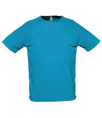 SOLS Sporty - T-shirt à manches courtes - Homme (Noir) - UTPC303