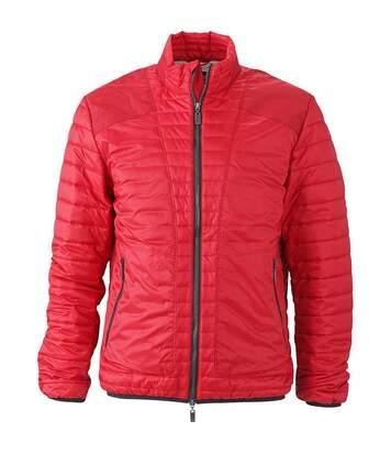 Doudoune veste légére homme JN1112 - rouge