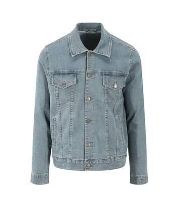 So Denim Mens Noah Denim Jacket (Light Blue Wash) - UTPC3640