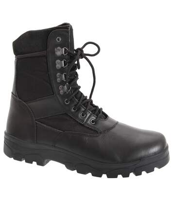 Grafters Mens G-Force Thinsulate Lined Combat Boots (Black) - UTDF704