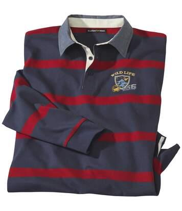 Prúžkované polo tričko Rugby
