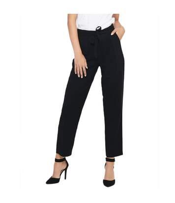 Pantalon Noir coupe droite femme JDY Sabina
