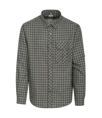Trespass Mens Snyper Check Shirt (Green Check) - UTTP3805