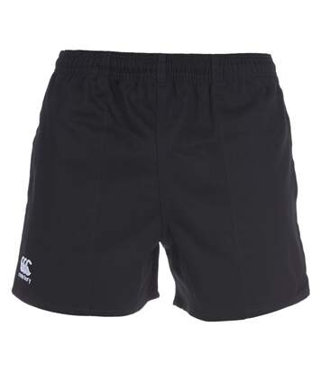 Canterbury Mens Professional Cotton Rugby Shorts (Black) - UTRD516