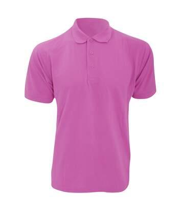 Kustom Kit Mens Klassic Superwash Short Sleeve Polo Shirt (Pink) - UTBC608