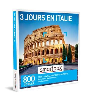 SMARTBOX - 3 jours en Italie - Coffret Cadeau Séjour