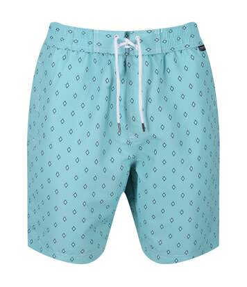 Regatta Mens Hadden II Quick Drying Board Shorts (Maui Blue) - UTRG4175