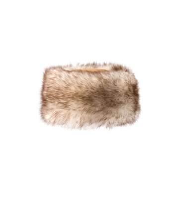 Eastern Counties Leather Womens/Ladies Kate Cossack Style Sheepskin Hat (Brown/Brown) - UTEL205