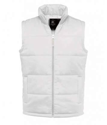 Gilet doudoune sans manches homme - Bodywarmer JM930 - Blanc