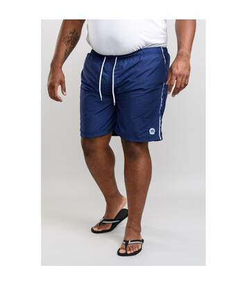 Duke Mens Yarrow D555 Full Length Swim Shorts (Navy) - UTDC205