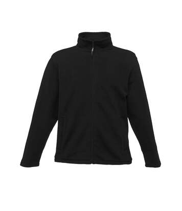 Regatta Mens Plain Micro Fleece Full Zip Jacket (Layer Lite) (Black) - UTRG1551