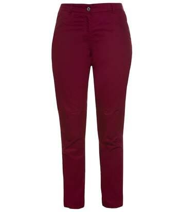 Gina Laura pantalon business light red NOUVEAU