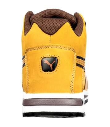 Chaussure montante 100% non métaliique Puma Dash Wheat Mid S3 SRC