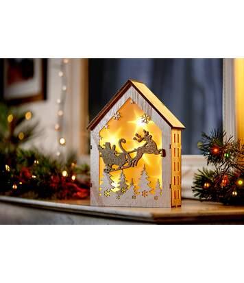 Le Cadre Lumineux 3D de Noël