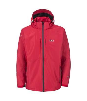 Trespass Mens Kumar Waterproof DLX Jacket (Red) - UTTP3286